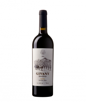 """Wine """"Givany Wines"""" Reserve red dry 750 ml"""