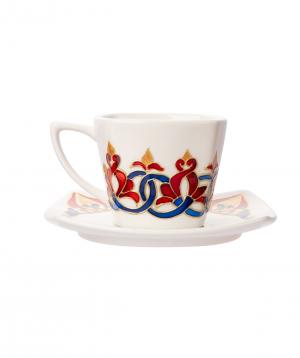 "Tea cup ""Taraz Art"" decorative №2"