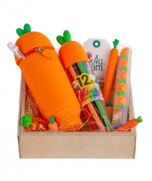 Gift box `Carrot`