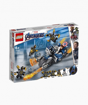 Lego Marvel Constructor Captain America: Outriders Attack