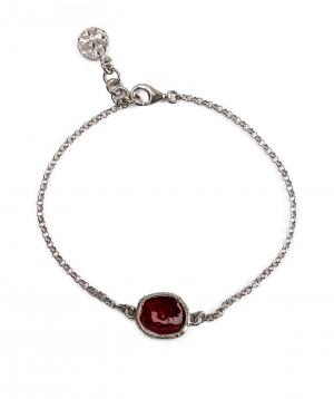 """Bracelet """"DF Project"""" silver №4"""