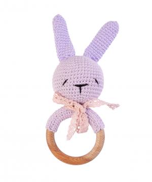 Խաղալիք «Crafts by Ro» չխկչխկան նապաստակ №2