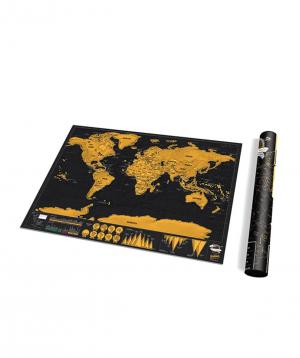 Աշխարհի քարտեզ «Ceative Gifts» ջնջվող մակերեսով №3