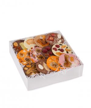 Շոկոլադ «Saryaneats» չորամրգերով և ընդեղենով, տուփով №3