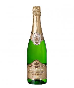 """Шампанское """"Армянское"""" полусухое 750 мл"""
