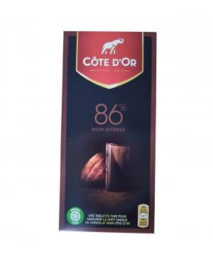 Chocolate bar `Cote D'Or Noir brut` 100g