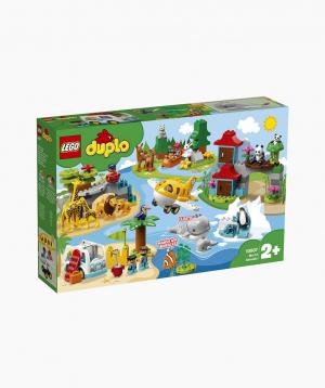 Lego Duplo Կառուցողական Խաղ Աշխարհի Կենդանիները