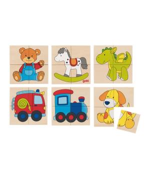 """Toy """"Goki Toys"""" pazzle Karemo toys"""