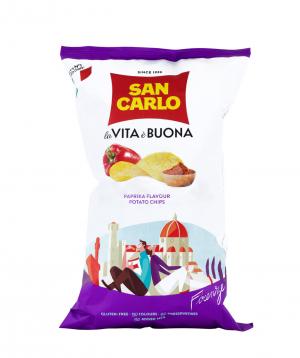 Չիպս «San Carlo Piu Gusto» պապրիկա 150գ