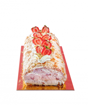 Roulade `Moms Little Bakery` with meringue