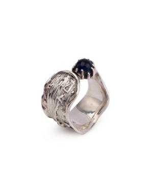 """Ring """"Kara Silver"""" Dali's Persistence of Memory"""