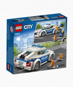 Lego City Կառուցողական Խաղ Պարեկային Ոստիկանության Մեքենա