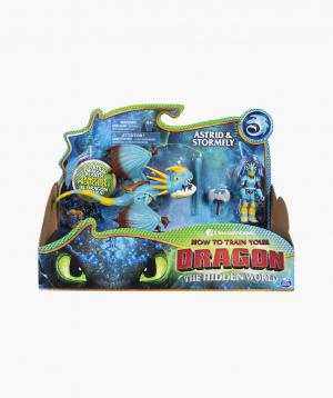 Spin Master Մուլտհերոսների Արձանիկներ Dreamworks Dragons «Stormfly and Astrid»