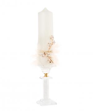 Candle `Edit Sweet` wedding