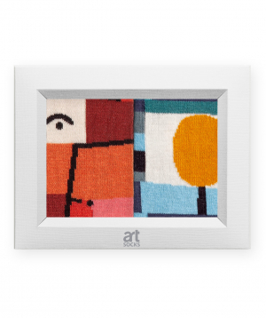 "Socks  ""Art socks"" with  ""The messenger of Autumn"" painting"