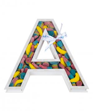 """Letter Composition """"A"""""""