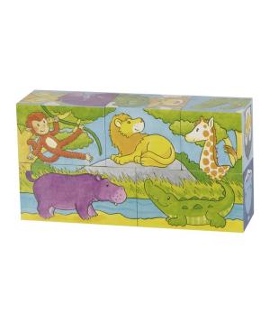 Խաղալիք «Goki Toys» խորանդարիկներով փազլ Safari