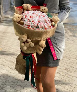 Sweet bouquet `Opuzen`