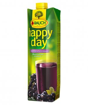 Juice `Happy Day` natural, black currant 1l