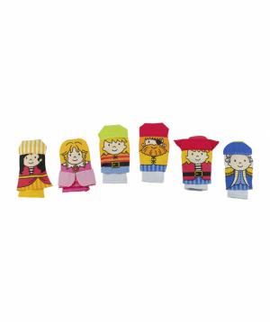 Խաղալիք «Goki Toys» մատի տիկնիկներ Ծովահեններ