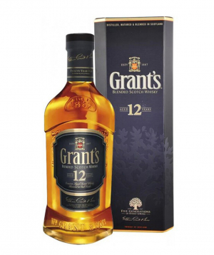 Whiskey `Grants` 12 years 700 ml