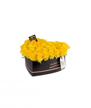 Կոմպոզիցիա «Սկոպյե» վարդերով