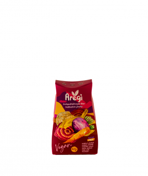 Dried `Aregi` vegetable chips mix