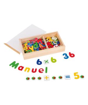 Խաղալիք «Goki Toys» մագնիսական այբուբեն և թվեր