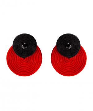 "Earrings ""LilmArt"" handmade №10"