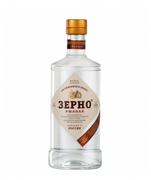 Vodka `Зерно Ржаная` 700ml