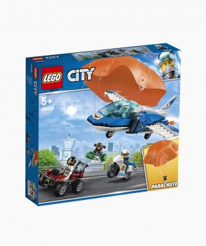 Lego City Կառուցողական Խաղ «Օդային Ոստիկանություն. Պարաշյուտիստի Ձերբակալումը»