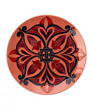 "Plate ""Taraz Art"" decorative, ceramic №2"