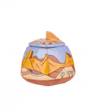 "Sugar bowl ""Nuard Ceramics"" Saryan"