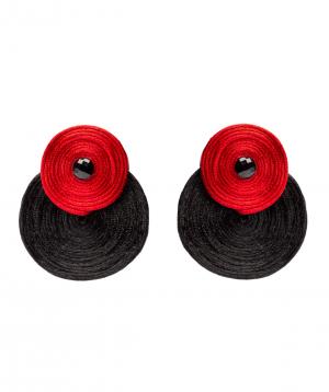 "Earrings ""LilmArt"" handmade №11"