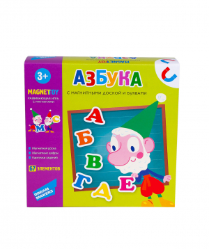 "Table game ""Alphabet"""