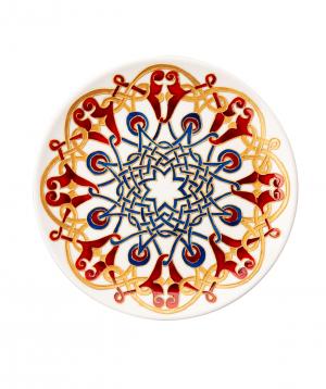 "Plate ""Taraz Art"" decorative, ceramic №4"