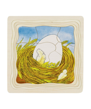 Toy `Goki Toys` puzzle vegetable patch