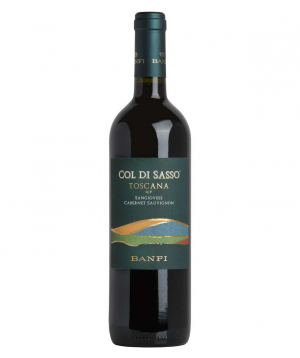 Wine `Banfi Col-Di Sasso` red, dry 750 ml
