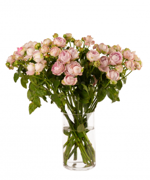 Bouquet `BLOSSOM BUBBLES` with peony rose