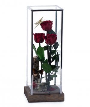 Վարդեր «EM Flowers» հավերժական կարմիր 37 սմ