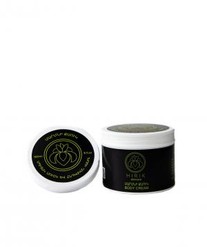 Cream `Hirik Cosmetics` for body Indian vanilla and white musk