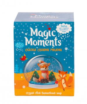 """Collection """"Bonasens"""" magic ball winter fox"""