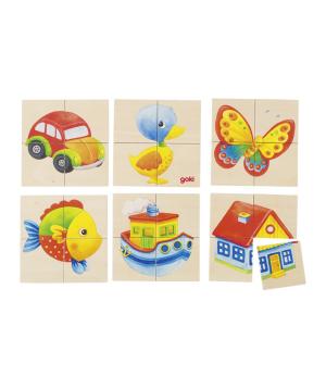 Խաղալիք «Goki Toys» փազլ Karemo