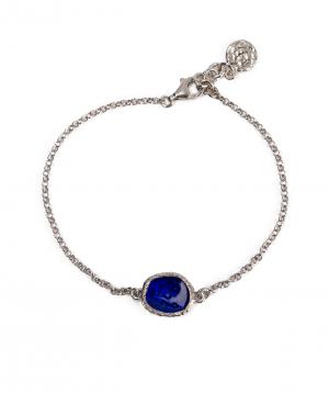 """Bracelet """"DF Project"""" silver №3"""