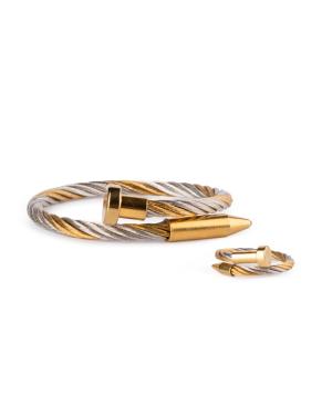 Հավաքածու «Ssangel Jewelry» թևնոց և մատանի