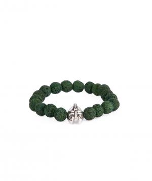 Bracelet `Ssangel Jewelry` men`s №16, with natural stones