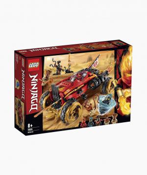 Lego Ninjago Կառուցողական Խաղ Ամենագնաց Katana 4x4