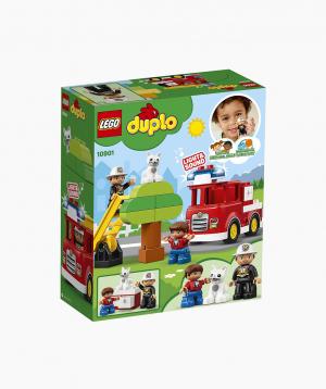 Lego Duplo Կառուցողական Խաղ Հրշեջ Մեքենա