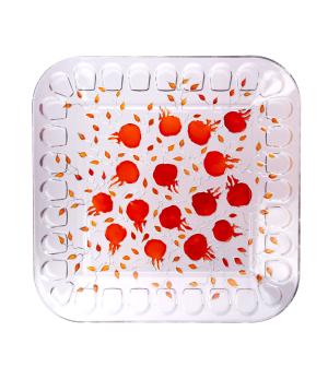 "Plate ""Taraz Art"" decorative, glass №20"