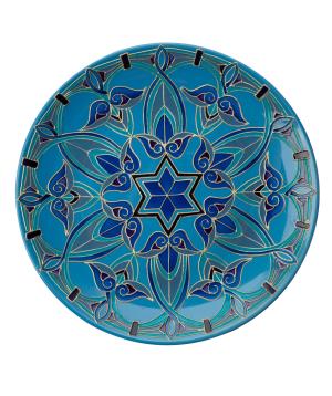 "Plate ""Taraz Art"" decorative, ceramic №1"